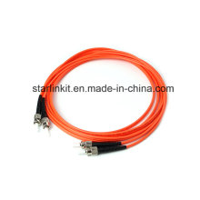 Câble de connexion à fibre optique à mode multimode St to St Om2