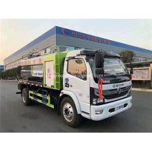 Camión de succión de aguas residuales de vacío de dragado a chorro Dongfeng 170hp
