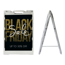 Good Quality  Poster Stand Double Side Advertising Hot Sale Boards Poster Stand Display