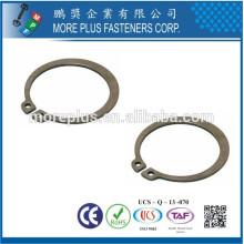 Hecho en Taiwán Anillo de retención de acero al carbón Circlip interno básico DIN471