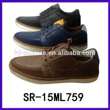 Los zapatos del hombre de la manera calzan los zapatos de los hombres al por mayor del zapato del hombre de la clase