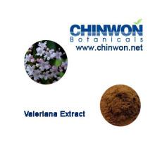 Valerian Wurzel Extrakt Valeriansäure 0,8% HPLC