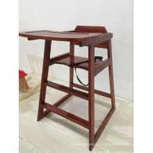 2016 Cadeira de madeira de madeira do bebê Cadeira elevada