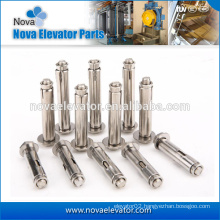 Manufacturer factory zinc plated steel wedge anchor/expansion bolt