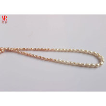 5-6-7mm Mixed Color Rice Natural Pearl Necklace (ES130-3)
