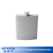 Customized Logo Sublimation Coated Stainless Steel Wine Pot Hip Flask 6oz 7oz 8oz