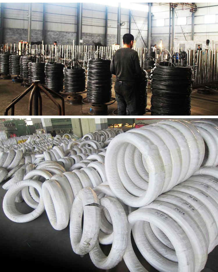 black annealed wire with soft quality