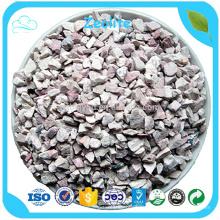 Hecho en China Zeolita granular de la malla del precio 14x40 de la fábrica para la filtración del agua