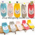 Wholesales Cute Cotton Socks for Girls with Feather Yarn Patterns
