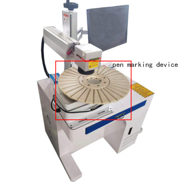 50w Desktop CNC Kompetitif Harga Logo Logo Iphone Laser Marking Machine