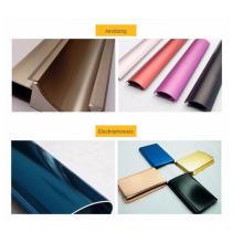 Material de construcción Perfil de extrusión de aluminio