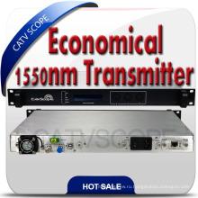 Экономичный 1550нм волоконно-оптический передатчик с внешней модуляцией