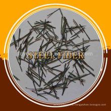 High Tensile Strength Slit Steel Fiber For Concrete