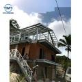 Foshan Factory Good Quality Pvc Cladding Light Steel Structure Villa