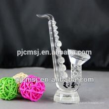 Новейший Кристалл саксофон для decration или подарок