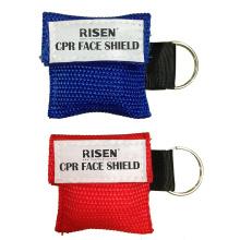 Meistverkaufte Einweg-Schlüsselbund Medical CPR Face Shield / Mask