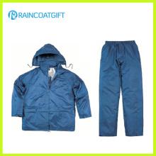Polyester PVC imperméable Rainsuit Rpy-059