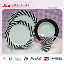 18PCS Custom Handpainted Promotional Stoneware Dinner Set