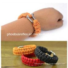 Customized Survival Bracelet