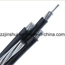 0.6/1 Kv LV Aerial Bundled Cable 3 Core Phase 16mm2 AAC 16mm2 Bare AAAC Messenger