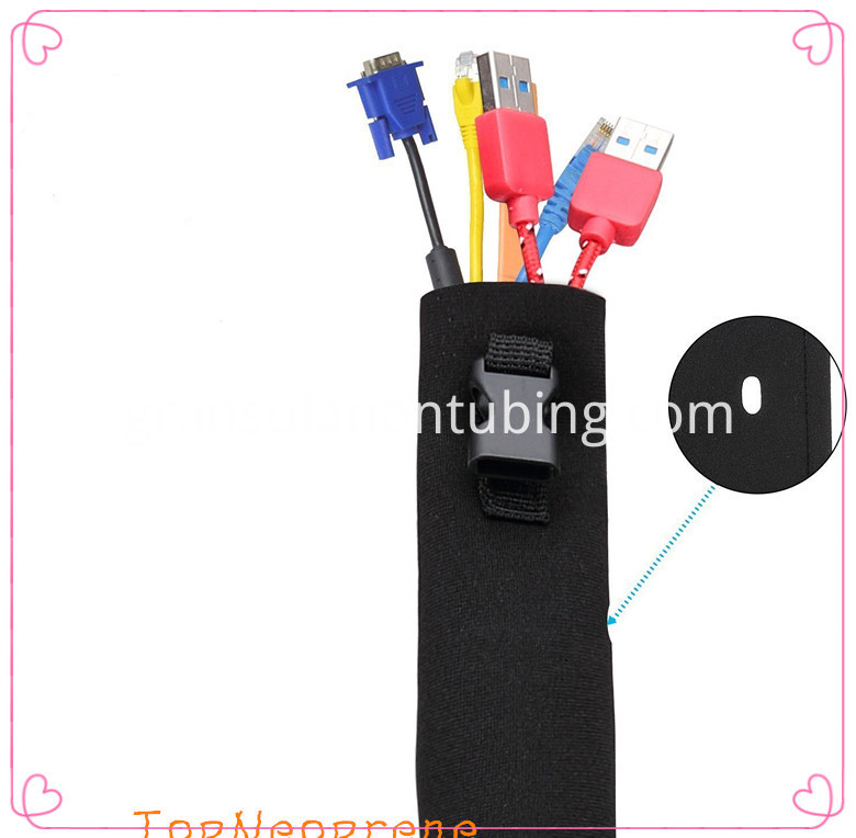 Flexible Neoprene Cable Sleeve