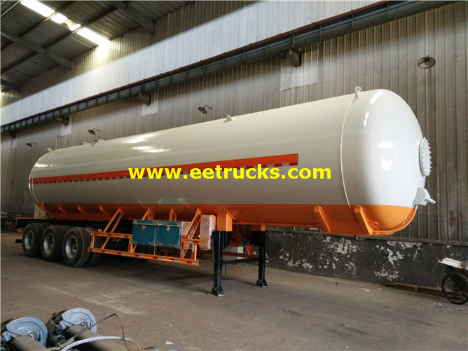 56m3 LPG Gas Tank Trailers