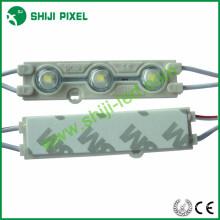 Fábrica al por mayor IP66 a prueba de agua a prueba de agua solo color DC12V 0.72W Epistar 5050 con inyección de lentes módulo led