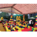 LULU epp foam building block para shopping mall