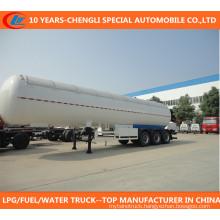 Asme 3 Axle LPG Transport Tank Trailer 40000L-60000L LPG Tanker Semi Trailer for Nigeria