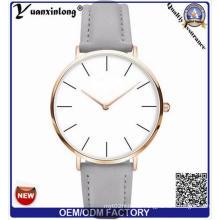 Yxl-940 China Low Price Watch Brand Color Quartz Watch Fashion Leather Strap Lady Watch Wholesale