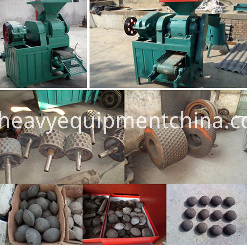 Iron Briquette Making Machine