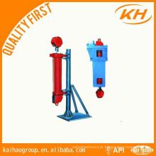 Catheus hidráulico para equipamentos de campos petrolíferos