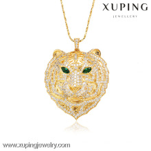 32008-Xuping Imitation Jewelry Fashion pendants For Woman With 18K Gold Plated (The Leopard Shape)