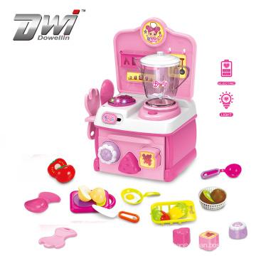 DWI wholesale plastic pretend juicer toy kitchen mixer for kids