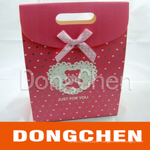 Printing Beautiful Coated Paper Packaging Bag for Gift