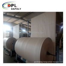 customized density polypropylene woven fabric roll polypropylene roll