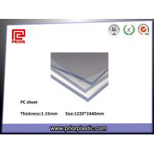 Высокая термостойкость прозрачный лист ПК