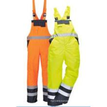 Pantalons de haute qualité de haute visibilité de poches de cargaison de poches