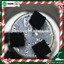 Carvão vegetal longo do shisha do tempo da baixa cinzas cúbica de 25mm para o nargile