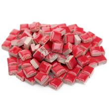 Mini piezas de mosaico rojo para mural de mosaico
