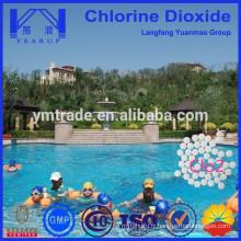 Comprimé de dioxyde de chlore utilisé pour la tablette piscine / clo2