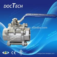 Нержавеющая сталь материал и стандарт стандарт или Nonstandard шариковый клапан нержавеющей стали 316