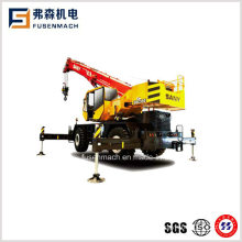 35tons 31.5meters 4X4 Rough Terrain Crane Src350