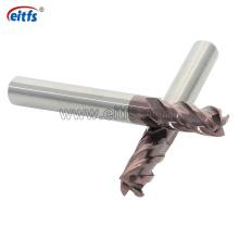 HRC 60 Solid Carbide End Mill for Shoulder Milling