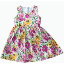 Los nuevos niños del diseño se visten en la falda de la ropa de los niños de la manera (SQD-106 amarillo)