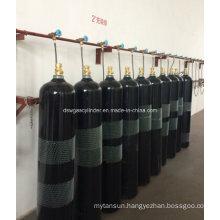 80L Nitrogen Gas Fire Extinguishing Gas Cylinder