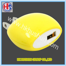 Provide High Quanlity Cute Yellow Charging Plug (HS-CP-004)