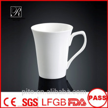 Canecas da cerâmica da fábrica de P & T, canecas de café, canecas brancas
