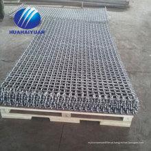 Mn65 tela de vibração malha de pedra triturador de malha malha de malha de pedreira de vibração