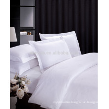 Luxury Hotel 100% Cotton Satin Bed Sheet Set Jacquard Design